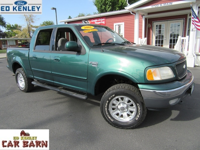 2001 Ford F-150 XLT Crew Cab Short Bed Truck