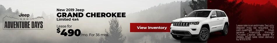 September 2019 Grand Cherokee Lease Offer