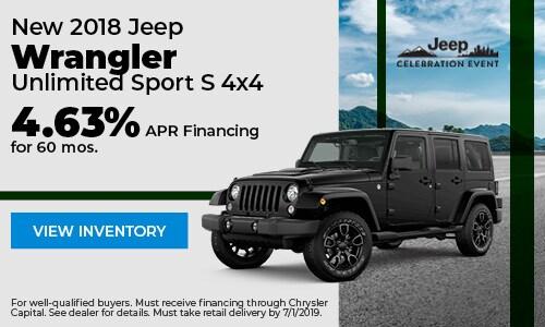 June 2018 Wrangler Finance Offer