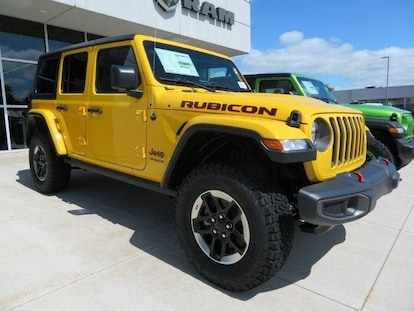 Jeep Wrangler Lease >> New 2018 Jeep Wrangler Unlimited Rubicon 4x4 For
