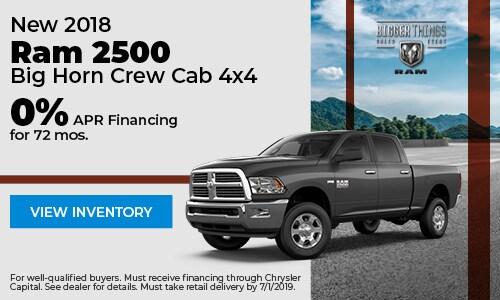 June 2018 2500 Finance Offer