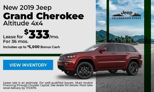 June 2019 Grand Cherokee Lease Offer