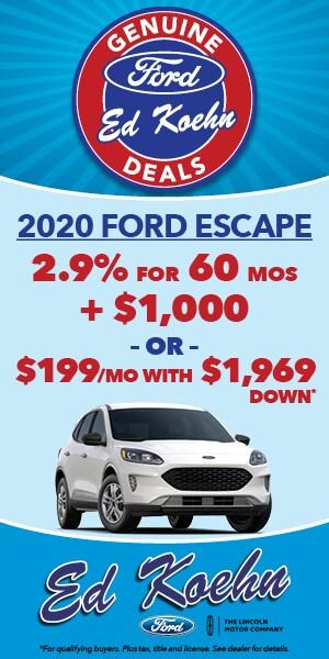 2020 Ford Escape Special