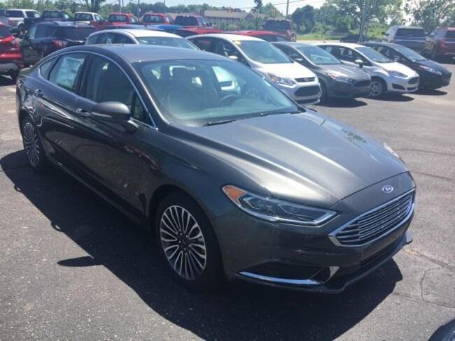 New 2018 Ford Fusion SE Sedan For Sale Greenville, MI