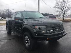2013 Ford F-150 4WD Supercrew 145 SVT Raptor Crew Cab Pickup