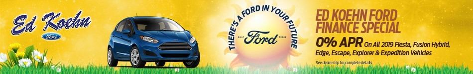 May Ed Koehn Ford Finance Special