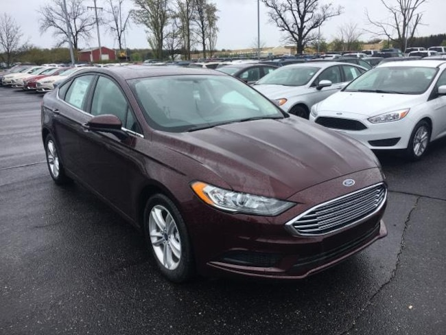 New 2018 Ford Fusion SE Sedan For Sale Greenville, MI