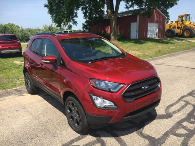 New 2018 Ford EcoSport SES Crossover For Sale Greenville, MI
