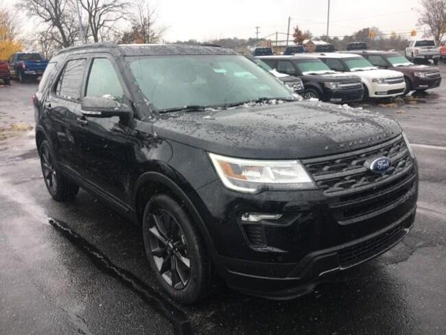 New 2019 Ford Explorer XLT SUV For Sale Greenville, MI