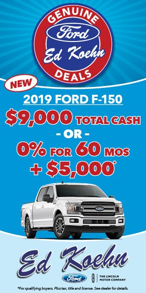 New F-150 Clearance