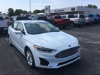 New 2019 Ford Fusion Hybrid SEL Sedan For Sale Greenville MI