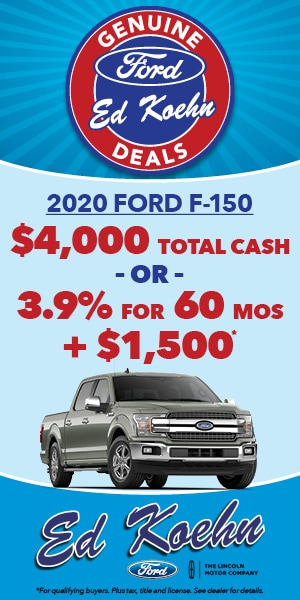 2020 Ford F-150 Specials