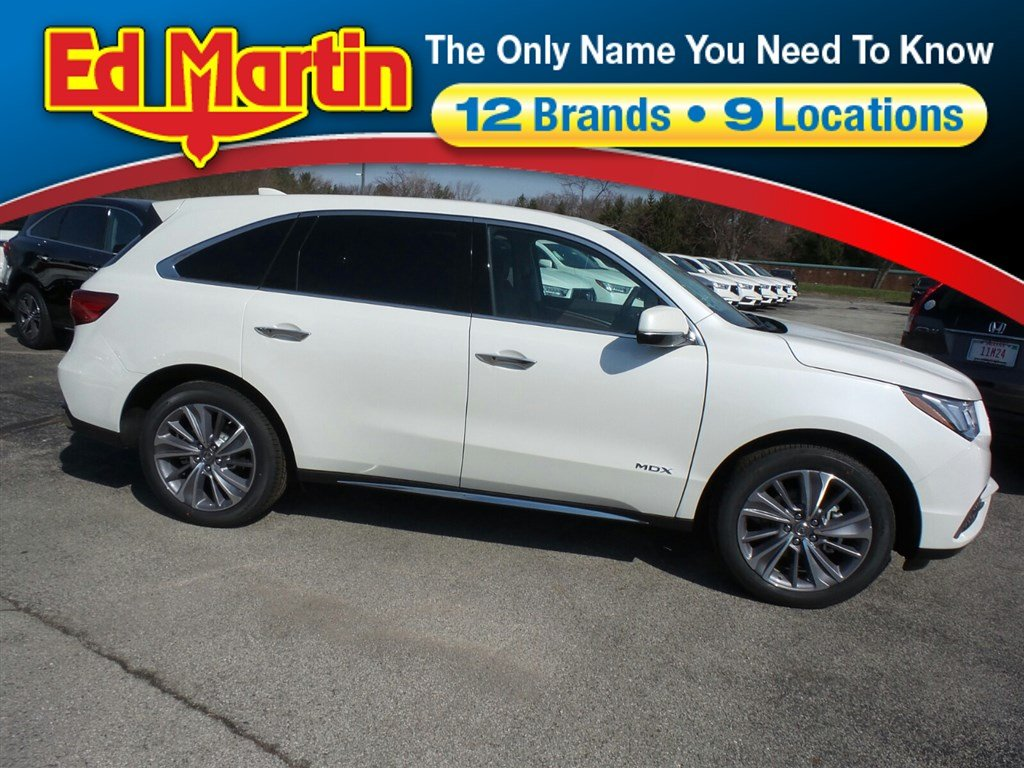 Featured New 2018 Acura MDX SH-AWD with Technology Package SUV for sale near you in Indianapolis, IN