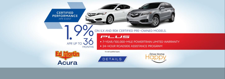 New And Used Acura Dealer Indianapolis Ed Martin Acura - Used acura dealership