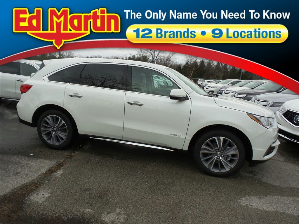 Featured new Acura luxury vehicles 2018 Acura MDX SH-AWD with Technology Package SUV for sale near you in Indianapolis, IN