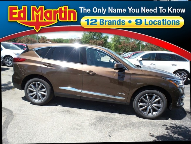 New 2019 Acura Rdx For Sale At Ed Martin Acura Vin 5j8tc1h55kl002825
