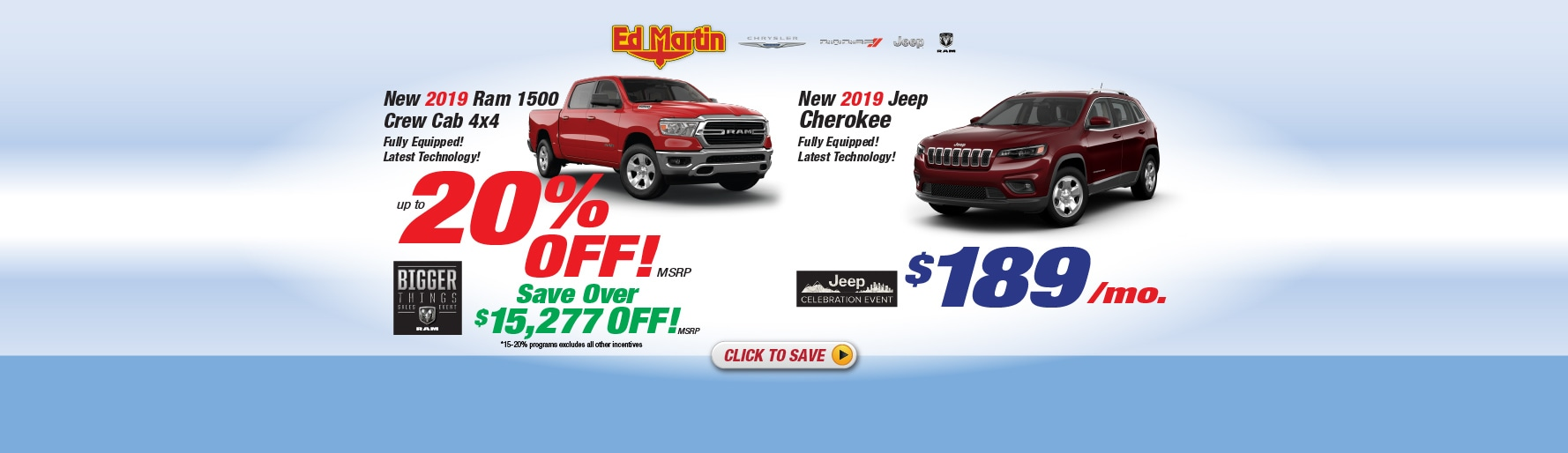 Jeep Dealership Indianapolis >> Ed Martin New 2018 2019 Chrysler Dodge Jeep Ram Used Car Dealer In