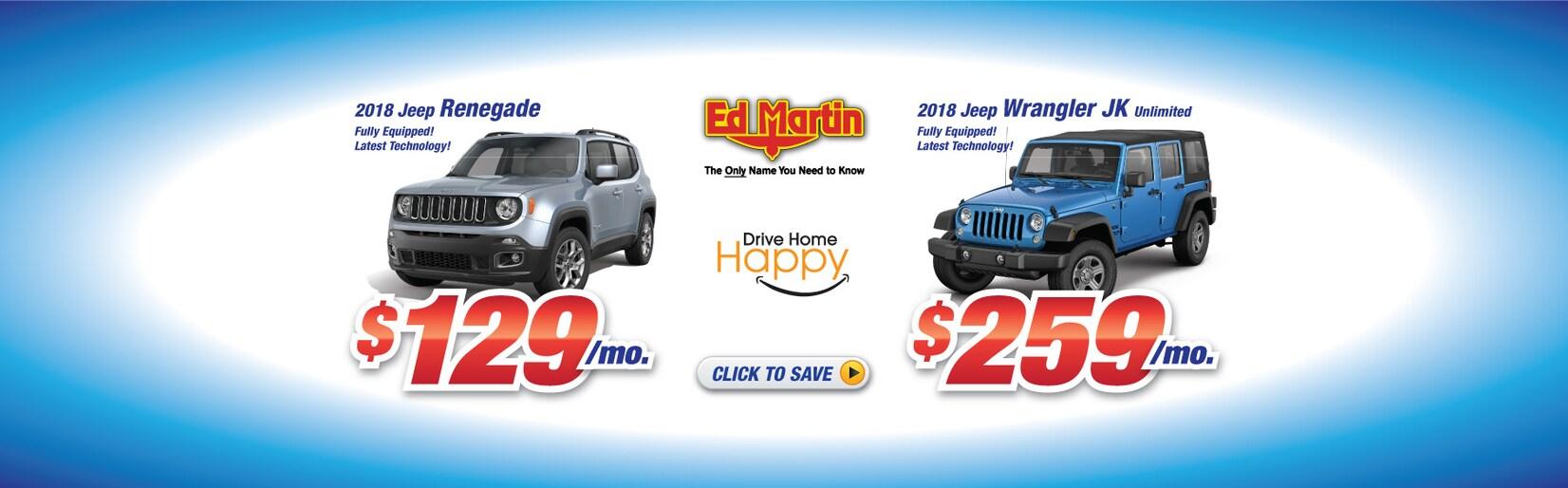 Martin Tire Muncie >> Ed Martin New 2017-2018 Chrysler Dodge Jeep RAM & Used Car Dealer in Anderson IN | Near ...