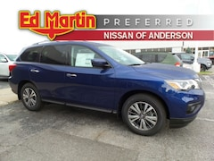 New Nissan cars, trucks, and SUVs 2019 Nissan Pathfinder S SUV for sale near you in Anderson, IN