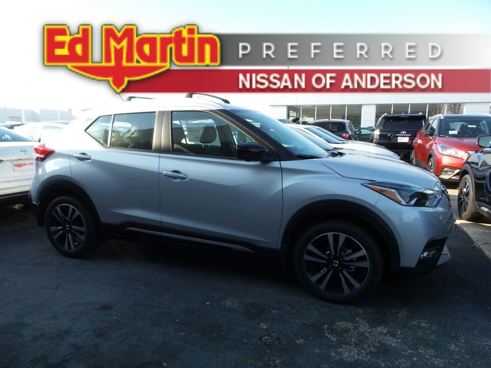 Featured new Nissan vehicles 2019 Nissan Kicks SR SUV for sale near you in Anderson, IN