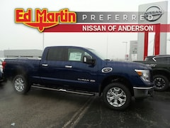 New Nissan cars, trucks, and SUVs 2019 Nissan Titan XD SV Gas Truck Crew Cab for sale near you in Anderson, IN