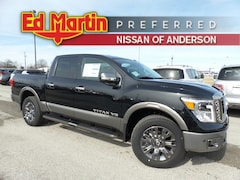 New Nissan cars, trucks, and SUVs 2019 Nissan Titan Platinum Reserve Truck Crew Cab for sale near you in Anderson, IN