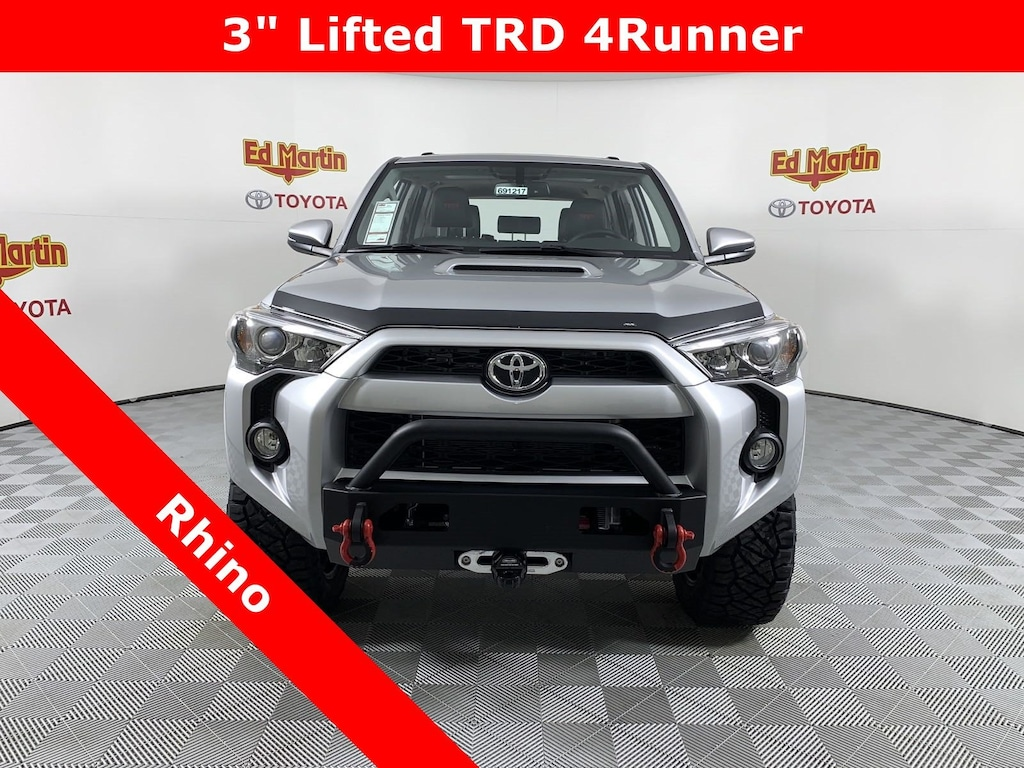 New 2019 Toyota 4Runner For Sale at Ed Martin Auto Group | VIN