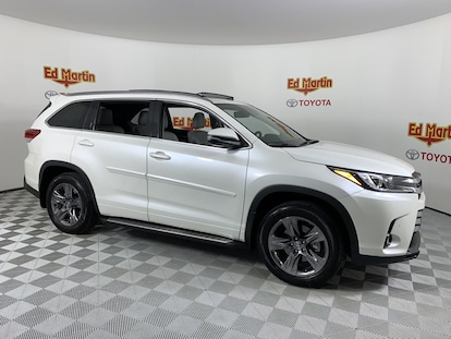 Martin Automotive Group >> Used 2018 Toyota Highlander For Sale At Ed Martin Auto Group