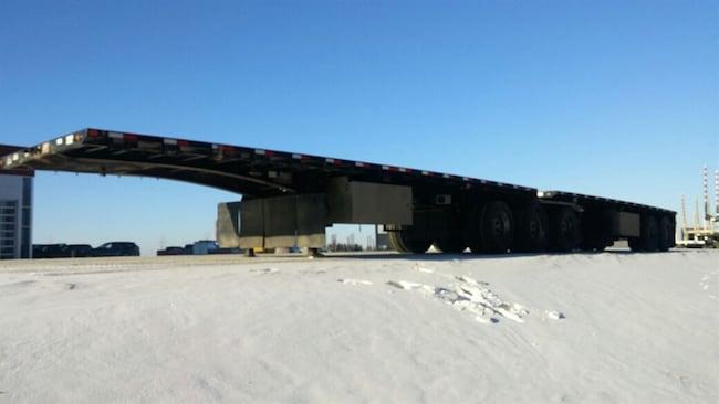 Used 2016 Doepker Super B Flat Deck - near Edmonton, AB