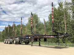 Used 2014 TrailEx 4 axle Logger near Edmonton, AB
