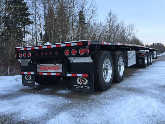 New 2019 Doepker Super B Steel Flat Deck - Edmonton