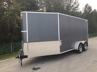 2017 CJay Trailers FX9-714-78-T35 Enclosed Cargo