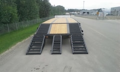 New 2019 Doepker Tridem Steel W/Ramps - near Edmonton, AB
