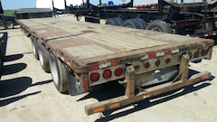 Used 2010 BWS Tridem  Steel Drop Deck near Edmonton, AB