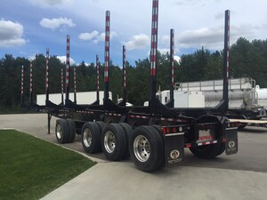 2017 Doepker 4 Axle Logger