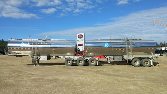 Used 2015 Tremcar Super B Stainless Insulated Non Code near Edmonton, AB