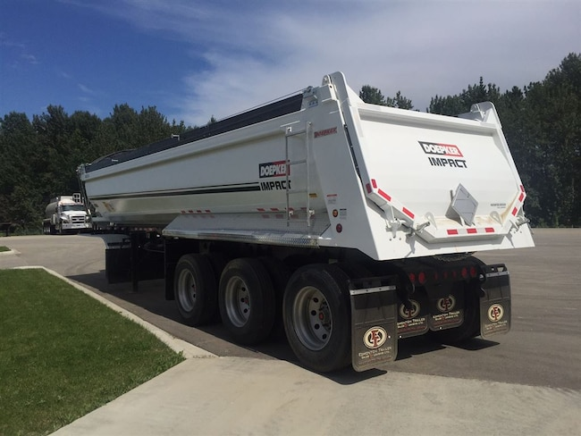 Used 2017 Doepker Impact End Dump - near Edmonton, AB