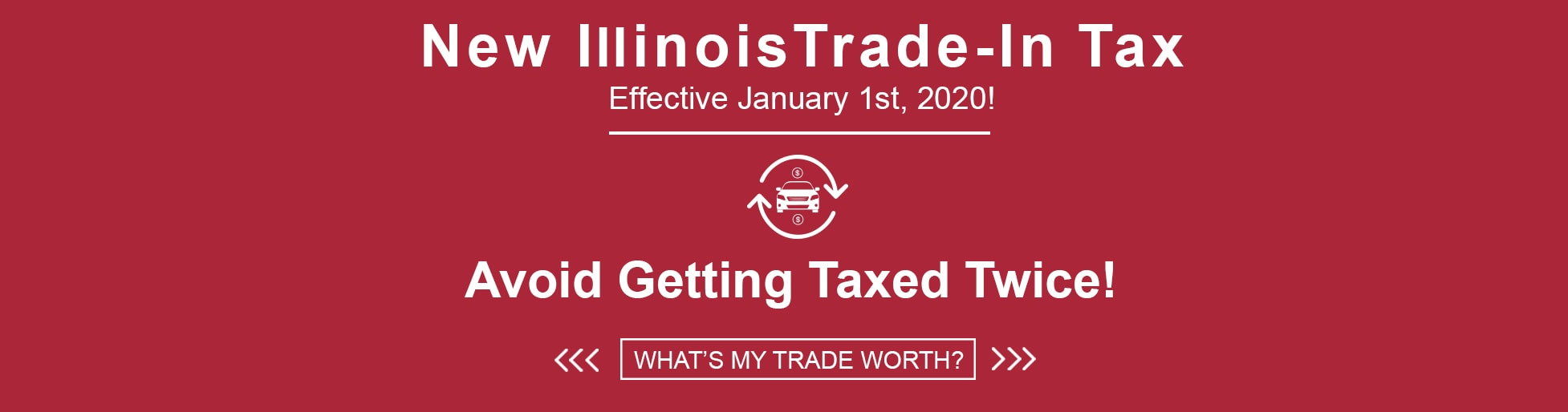 New Illinois Car Sales Tax