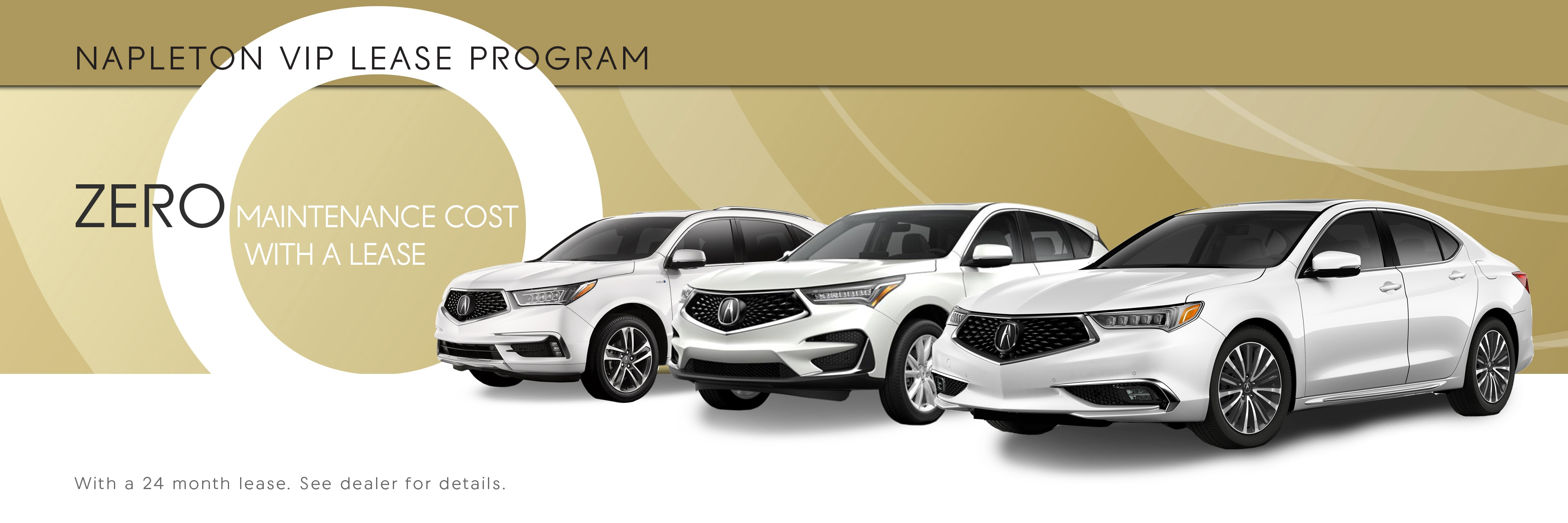 Napleton VIP Acura Lease Program
