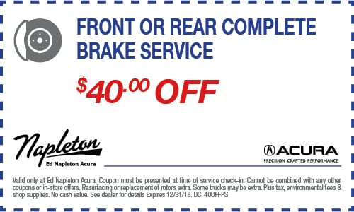 Car Repair Coupon Specials Elmhurst IL Ed Napleton Acura - Acura dealer service coupons