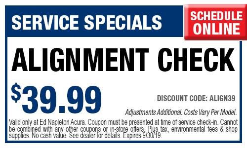 Acura Oil Change Coupon >> Car Repair Coupon Specials Elmhurst Il Ed Napleton Acura