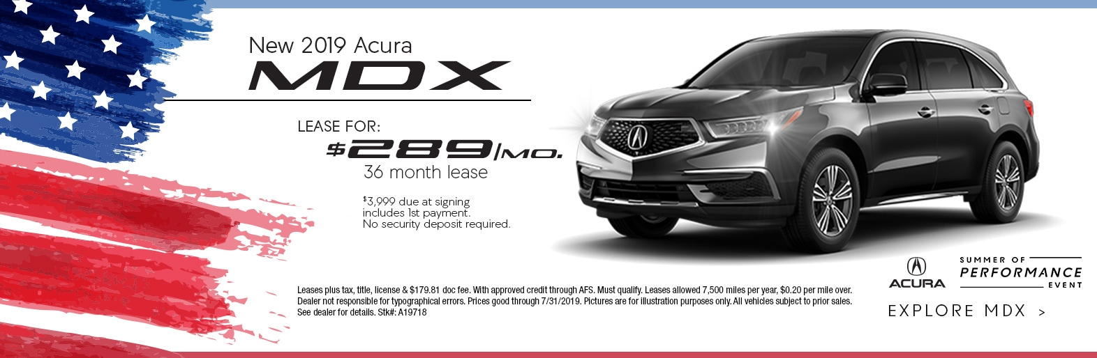 Acura Mdx Lease >> New 2019 Acura Mdx Suv Lease Deal Ed Napleton Acura