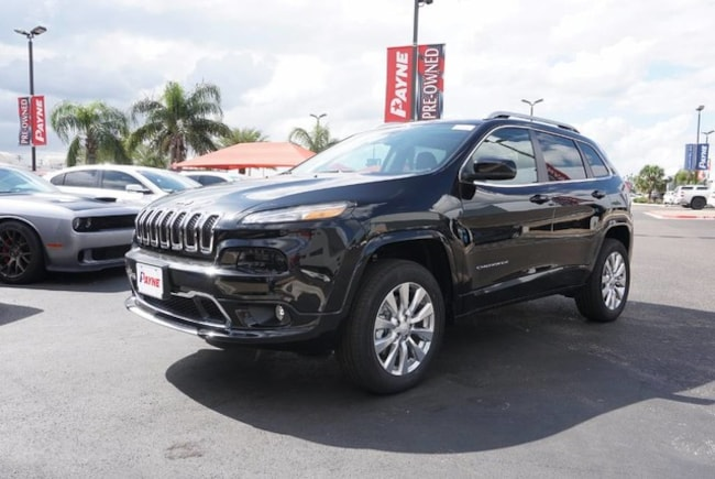 2018 Jeep Cherokee OVERLAND 4X4 Sport Utility