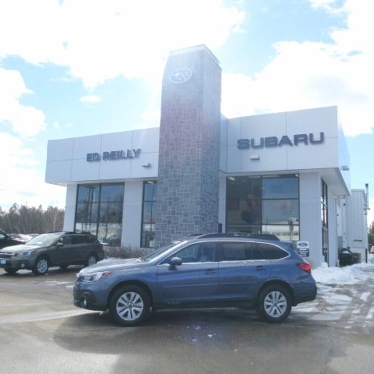 Certified Used 2018 Subaru Outback 2.5i Premium SUV in Concord New Hampshire