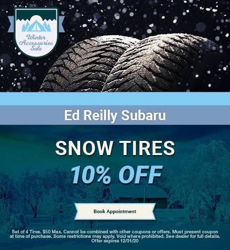 10% OFF Snow Tires