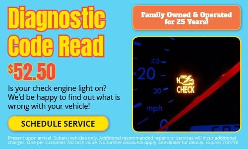 Diagnostic Code Read