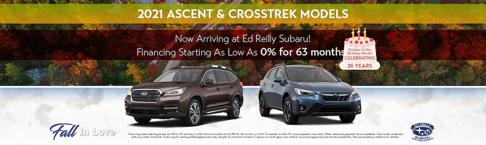 2021 Ascent & Crosstrek Models