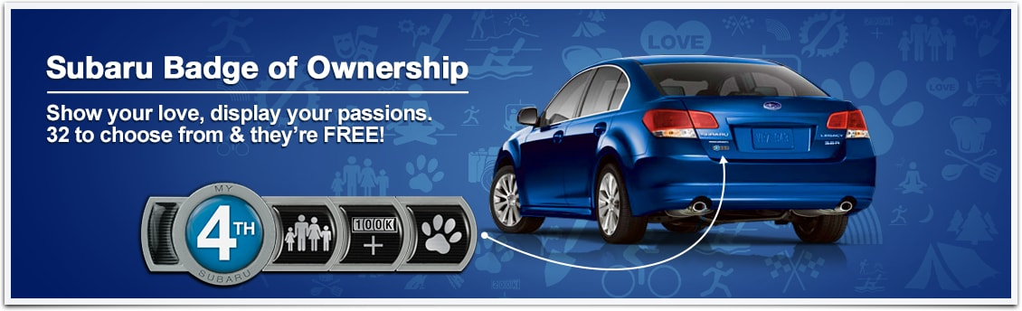 Free Subaru Badge Of Ownership Concord Nh Ed Reilly Subaru