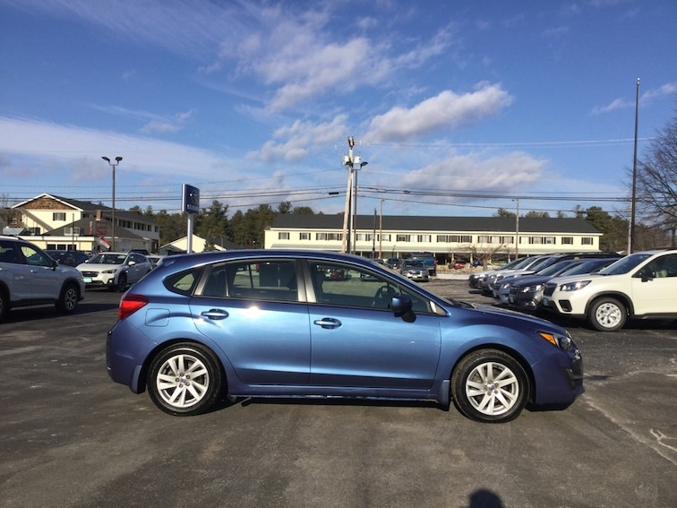 Used  2016 Subaru Impreza 2.0i Premium Hatchback in Concord New Hampshire