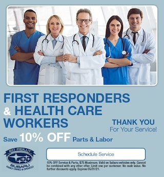 First Responders & Health Care Workers